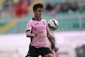 Paulo Dybala in action for Italian side Palermo
