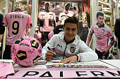 US Citta di Palermo Player Paulo Dybala Visit Conca D'Oro Shopping Center