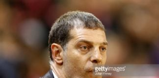 Slaven Bilic Manager of West Ham looks on from the sidelines