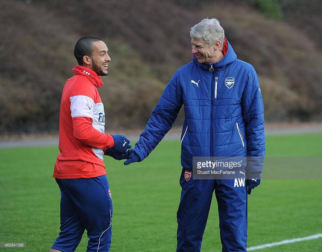 Theo Walcott, Arsene Wenger, Arsenal