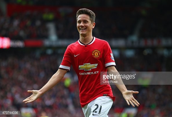 Valdes fan: Ander Herrera has given a ringing endorsement of the goalkeeper
