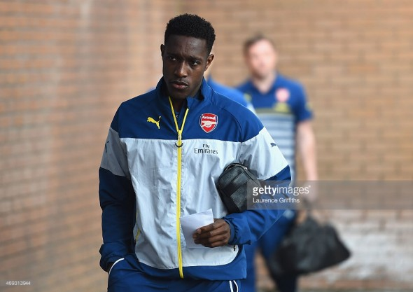 Injury nightmare: Danny Welbeck has been out since April with a knee problem