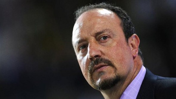 Sack face: Rafa Benitez has been dismissed as Real Madrid manager