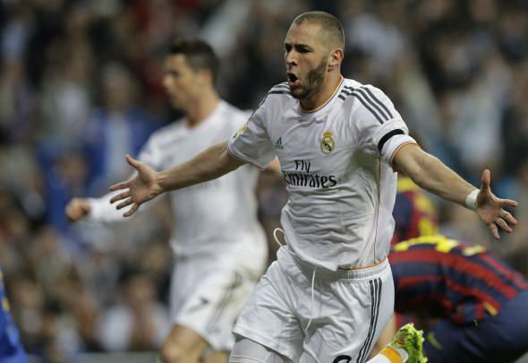 Fire power: Karim Benzema was targeted by Arsenal for his finishing ability