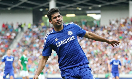 Moody blues: Diego Costa is hankering after a return to Spain