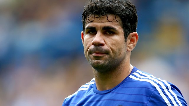 Moody blues: Diego  Costa is serving a three-match domestic suspension for violent conduct