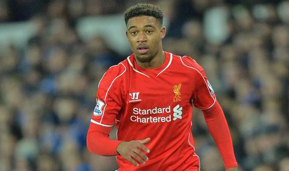 In the red: Jordan Ibe is regarded as a rising star