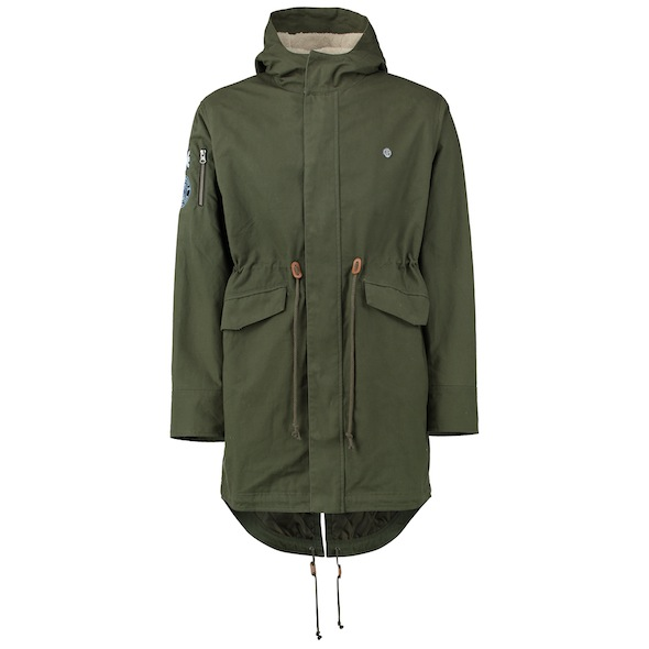 Fit in with MCFC faithful in this khaki Parker