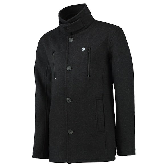 This pea coat is the latest fashion item from MCFC