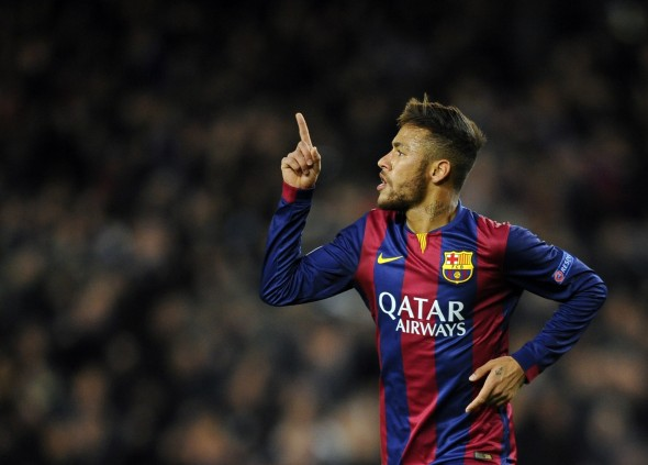 Big rival: Neymar plays for Barcelona but Ronaldo recognises the Brazilian's brilliance