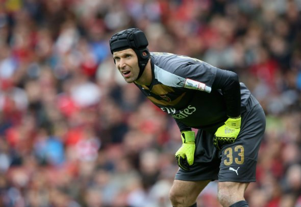 Record breaker: Petr Cech has beaten the Premier League clean--sheet record