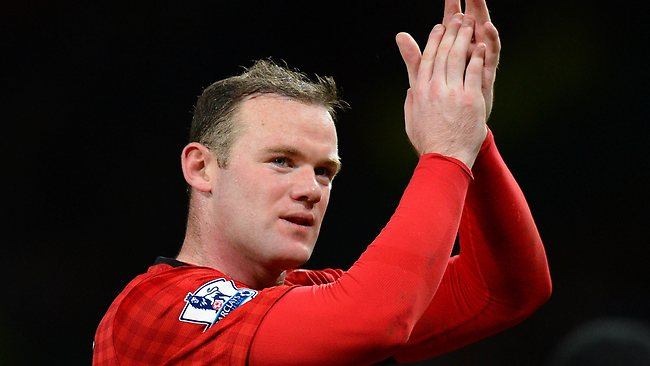 Warm words: Wayne Rooney was full of praise for new team-mate Anthony Martial