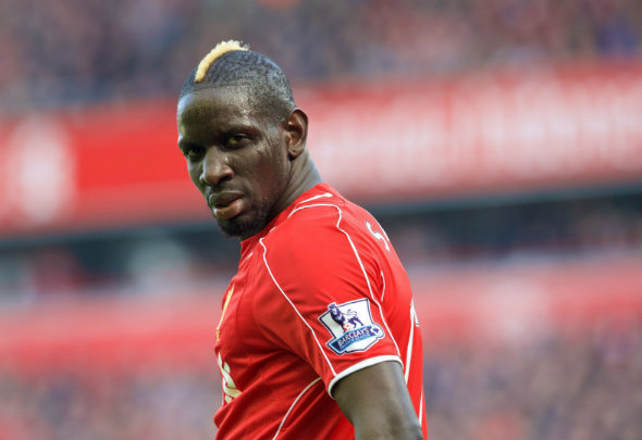 Red alert: Sakho is struggling with knee problems