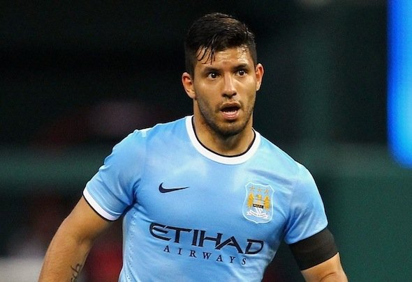 Blue-eyed boy: Aguero is one of the greatest players in City history
