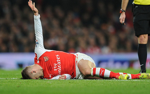 Jack the knife: Wilshere will undergo surgery next week