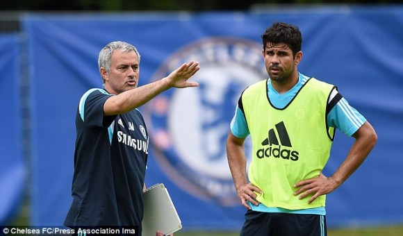 Moody blues: Jose Mourinho is struggling to get the best from his players this season
