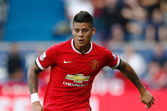 Crisis management: Rojo is one of the four senior United full-backs out injured