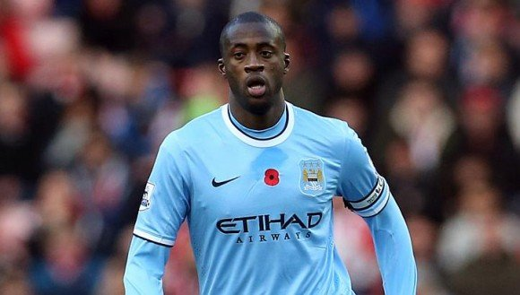 Moody blues: Yaya Toure could leave Manchester City in the summer