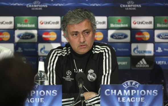 Managing problems: Jose Mourinho does not think he has overseen his last Chelsea game