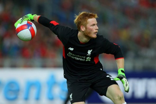 Early blunder: Stand-in keeper Bogdan was at fault as Liverpool lost to Watford