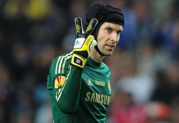 Double blow: Cech wlll join Koscielny on the sidelines against Spurs