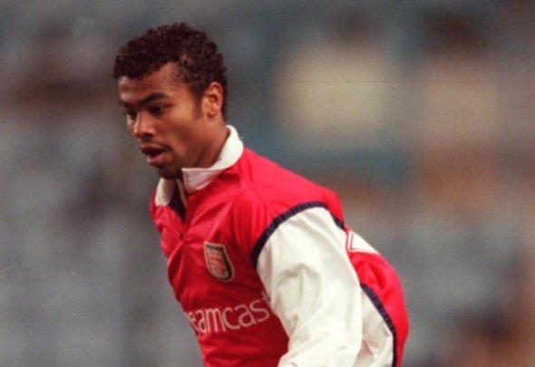 Young gun: Ashley Cole was tipped to be a star when he emerged from Arsenal's youth ranks