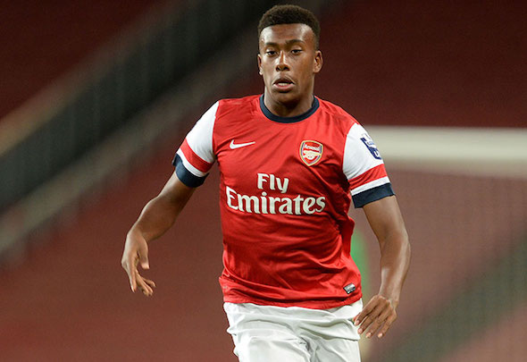 Red raw: Iwobi has showed encouraging signs in his few senior starts