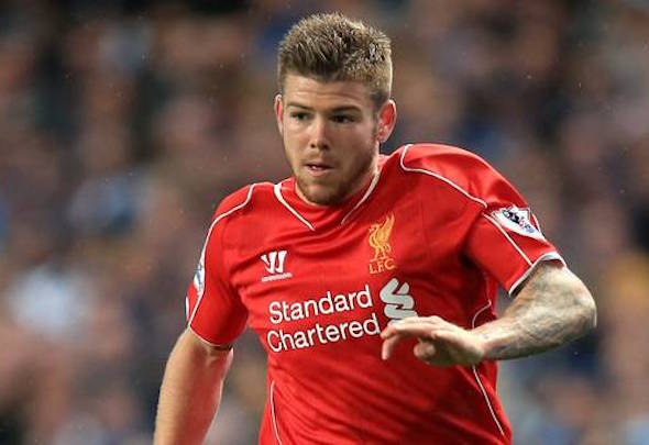 Red alert: Moreno is under pressure for his place from Flanagan