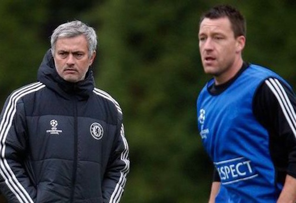 Captain fantastic: John Terry has recovered from an ankle injury