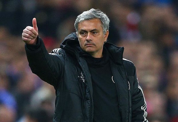 Target man: Man United want Mourinho to be their next manager