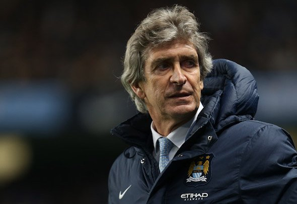 Testing times: Pellegrini will once again have to make do without Kompany in the Arsenal clash