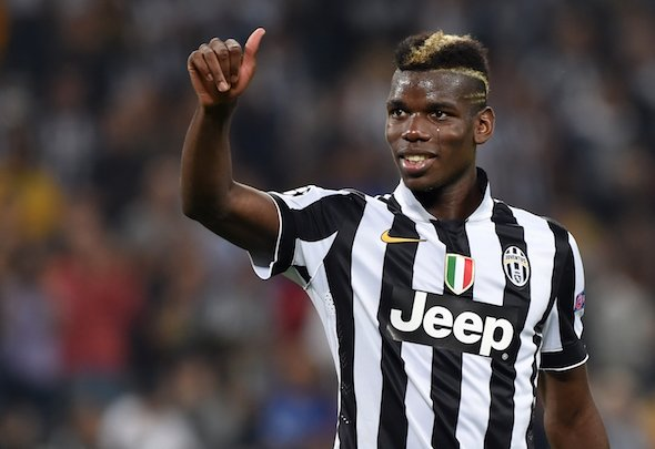 Rising star: Paul Pogba was targeted by Chelsea during the summer