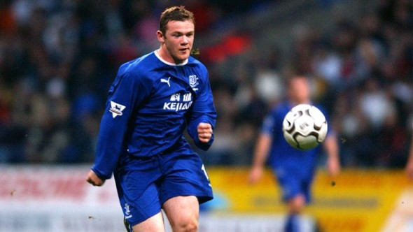 Once a blue: Wayne Rooney could wind down his career at boyhood club Everton