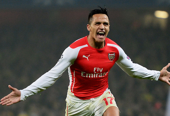 Home comforts: Sanchez will return to Chile to undergo the first phase of his rehab