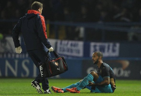 Injury expert: Colin Lewin heads Arsenal's physiotherapy department