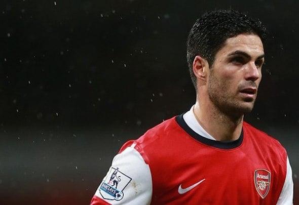 Skip ahoy: Arsenal captain Arteta is ready to hang up his boots