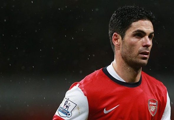 Skip ahoy:  Arsenal captain Arteta is ready to hang up his boots