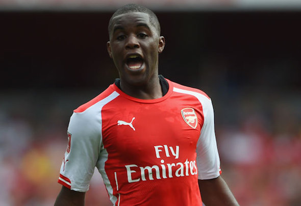 Upwardly mobile: Campbell has moved above Oxlade-Chamberlain in pecking order
