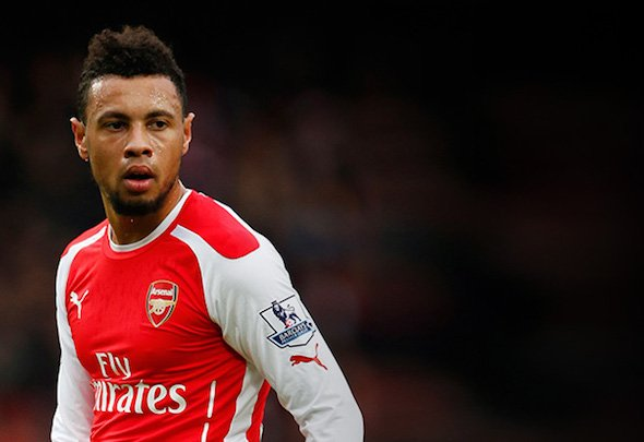 Growing stronger: Coquelin has established a smooth partnership with Elneny