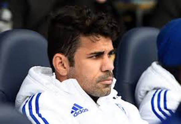 Sub standard: Diego Costa has been dropped to the bench after some poor displays