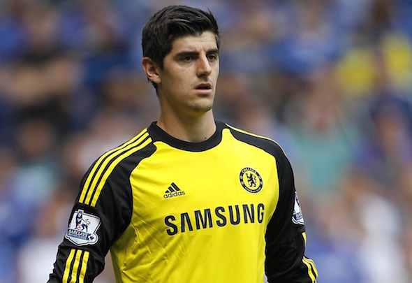 Number two: Rooney rates De Gea as better than Chelsea's Thibaut Courtois (pictured)
