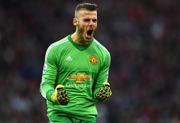 Injury boost: De Gea is closing in on United return