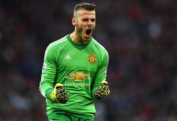 Foot loose: Scholes claimed De Gea should have kept out Payet goal