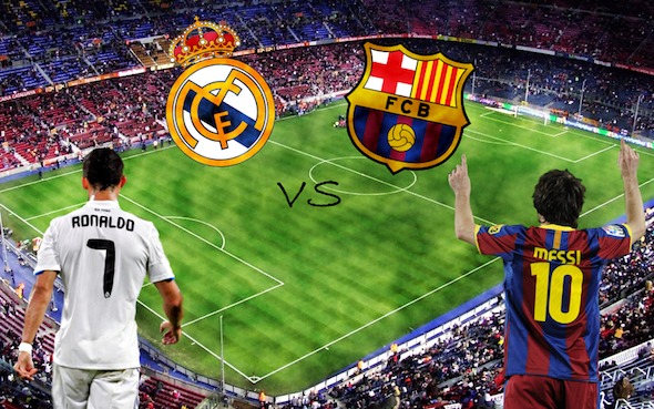 Real Madrid v Barcelona on Saturday