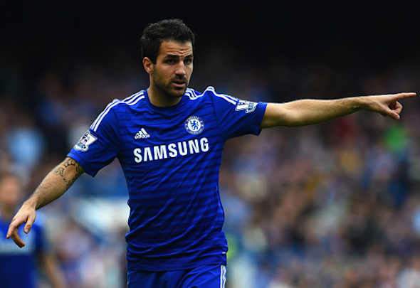 Annus horribilis: Fabregas has endured a sustained run of mediocre form in the last year