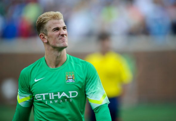 Testing times: Hart believes Kompany's body is feeling the strain of his playing style