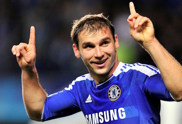 Easy meat: Branislav Ivanovic has struggled against mobile left-wingers this season
