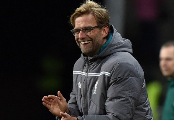 Guiding force: Klopp said there was only one word to describe Allen display