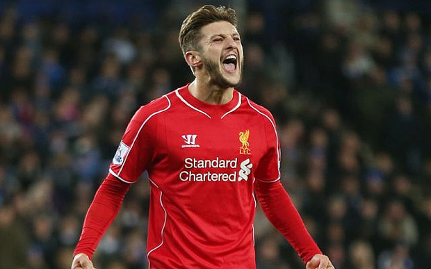 Time out: Lallana will miss Liverpool's trip to Augsburg due to injury
