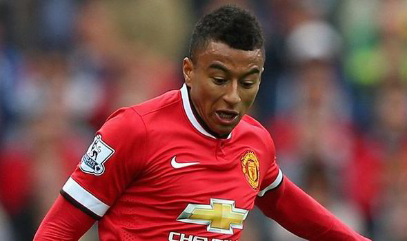 Walking wounded: Lingard limped off 30 minutes into United's defeat at Bournemouth